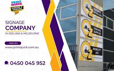 Signage Company Melbourne